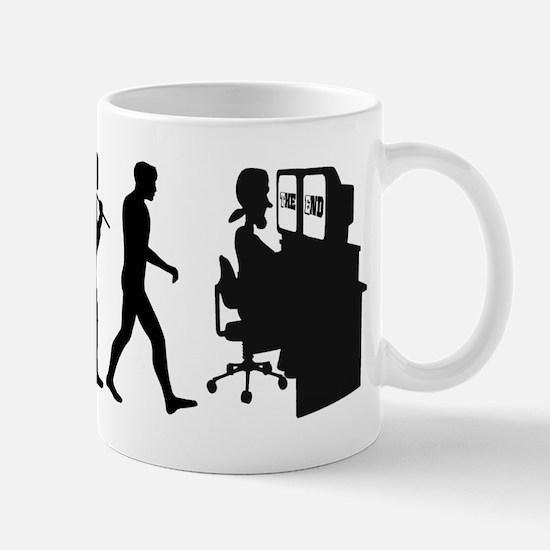 Film Editor Evolution Mug