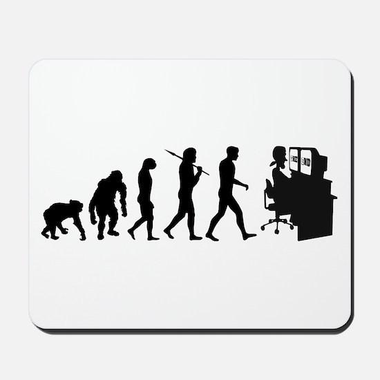 Film Editor Evolution Mousepad