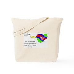 Grandbaby in Cambodia Tote Bag