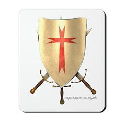 Templar Shield Mousepad