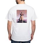 Knight Templar White T-Shirt