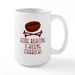 Home Roasting Large Mug