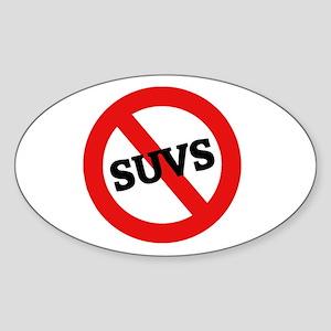 Anti Suvs Oval Sticker