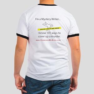 Cherokee McGhee Mystery Ringer T