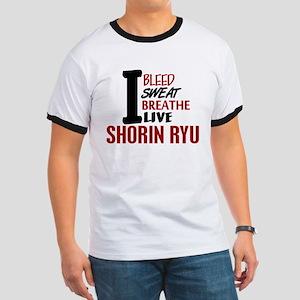 Bleed Sweat Breathe Shorin Ryu Ringer T
