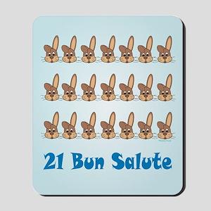21 Bun Salute Mousepad