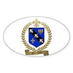 MALENFANT Family Oval Sticker