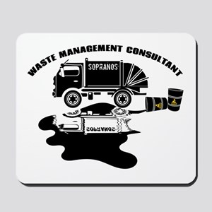 Sopranos Waste Management Mousepad