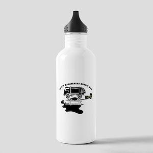 Sopranos Waste Managem Stainless Water Bottle 1.0L