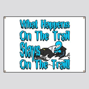On The Trail Banner