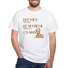 Barack Hussein Obama White T-Shirt