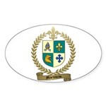 MARTINEAU Family Oval Sticker