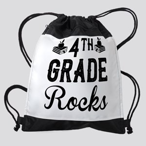 4th Grade Teacher Drawstring Bag