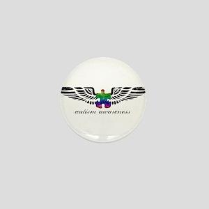 Autism Awareness - Wings Mini Button