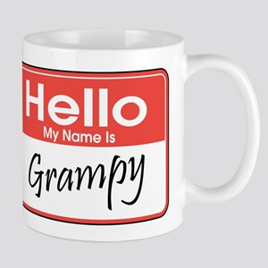 Hello, My Name is Grampy Mug