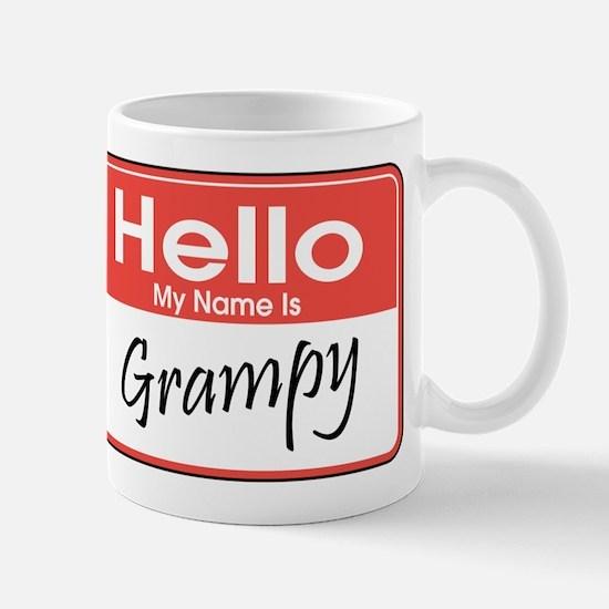 Hello, My Name is Grampy Mug