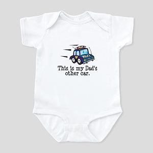 Dad's Police Car Infant Bodysuit