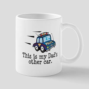 Dad's Police Car Mug
