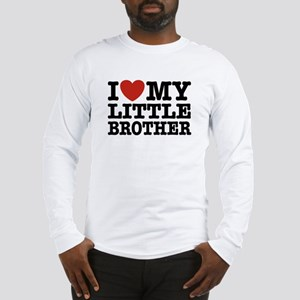 I Love My Little Brother Long Sleeve T-Shirt