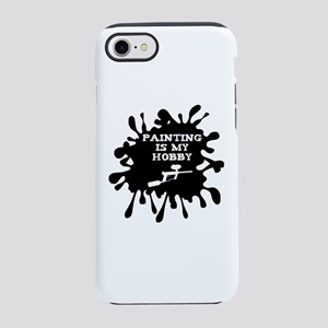 Paintball Player Painting Is iPhone 8/7 Tough Case