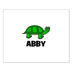 Abby - Customized Turtle Desi Posters
