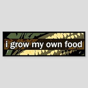 grow local Bumper Sticker