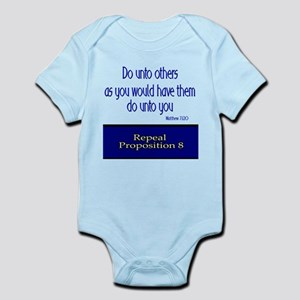 Repeal Prop 8 Infant Bodysuit