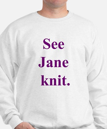 Jane Knits Sweatshirt
