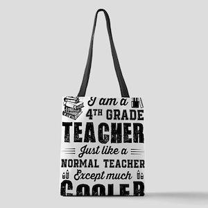 4th Grade Teacher Polyester Tote Bag
