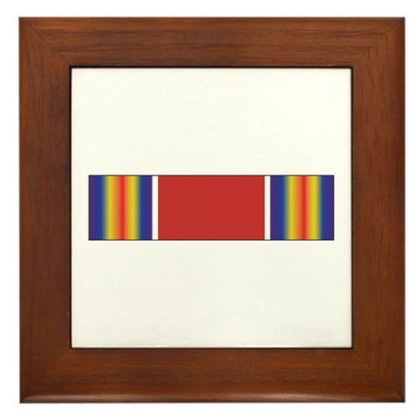 World War II Victory Framed Tile