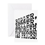 Gasoline Greeting Card