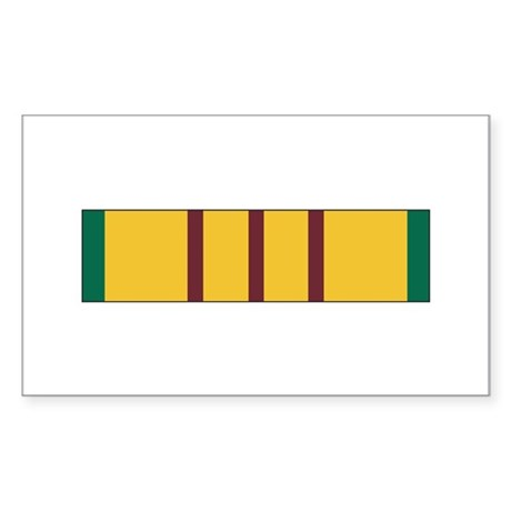 Vietnam Service Rectangle Sticker