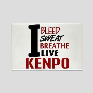 Bleed Sweat Breathe Kenpo Rectangle Magnet