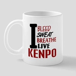 Bleed Sweat Breathe Kenpo Mug