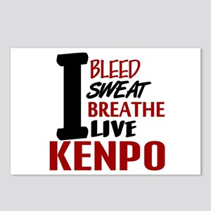 Bleed Sweat Breathe Kenpo Postcards (Package of 8)