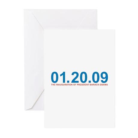 01.20.09 Obama Inauguration - Greeting Cards (Pk o