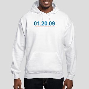 01.20.09 Obama Inauguration - Hooded Sweatshirt