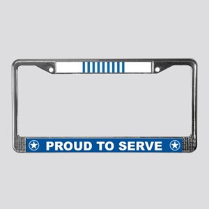 United Nations Service License Plate Frame