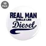 "Real man 3.5"" Button (10 pack)"