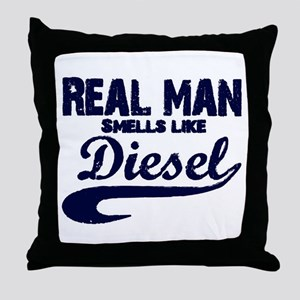 Real man Throw Pillow