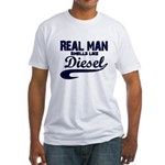 Real man Fitted T-Shirt