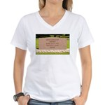 Death of a Nation Women's V-Neck T-Shirt