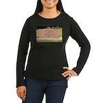 Death of a Nation Women's Long Sleeve Dark T-Shirt