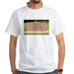 Death of a Nation White T-Shirt