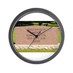 Death of a Nation Wall Clock