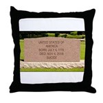 Death of a Nation Throw Pillow