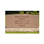 Death of a Nation Rectangle Magnet
