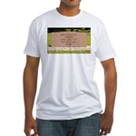 Death of a Nation Fitted T-Shirt