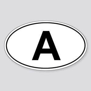 Austria car sticker (classic)