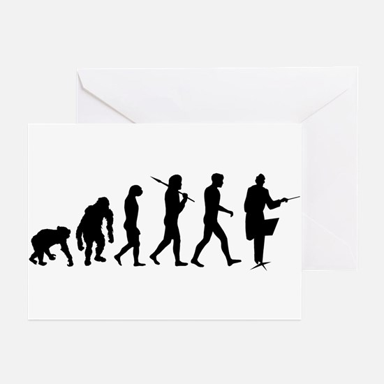 Orchestra Conductor Greeting Cards (Pk of 20)